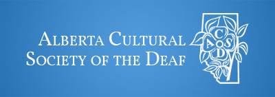 Alberta Cultural Society for the Deaf